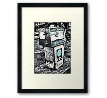 Cheap Petrol Framed Print