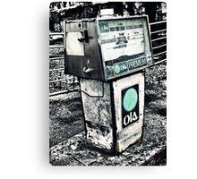 Cheap Petrol Canvas Print