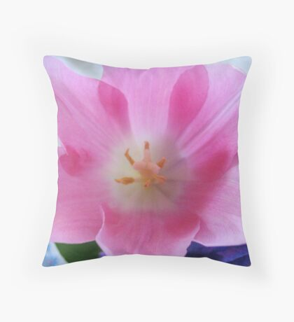 Terrific Tulip Throw Pillow