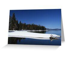 General River/ Lake Tahoe Greeting Card
