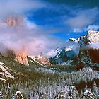 CLEARING WINTER STORM,YOSEMITE VALLEY by Chuck Wickham