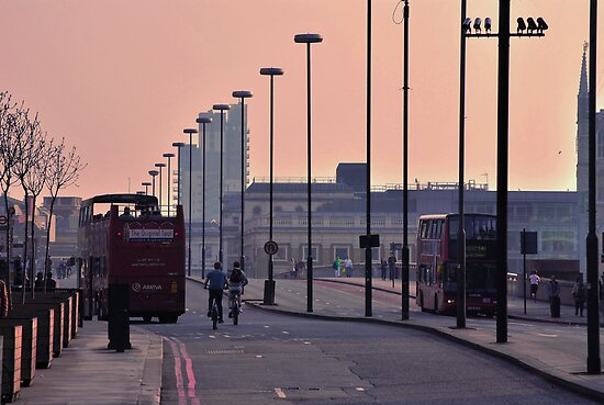 City of London by Ingrida Sokolovaite
