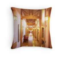Hallway Throw Pillow