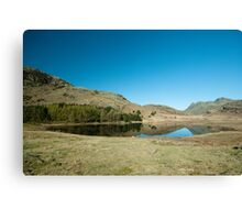 Blea Tarn, Little Langdale Canvas Print