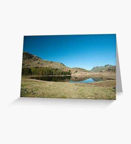 Blea Tarn, Little Langdale Greeting Card