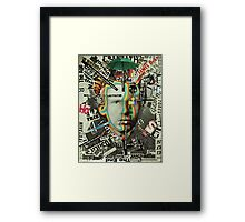 Living Parisian Poster of Van Gogh Aged 13 [Read all About It Number 8.7 Billion.. Framed Print