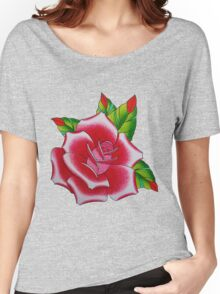 tattoo rose Women's Relaxed Fit T-Shirt