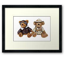 Adventure Bears Framed Print