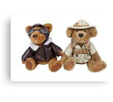 Adventure Bears Canvas Print