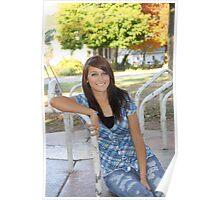 Senior Picture at the Park Poster