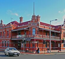 Furners Hotel, Ulverstone, Tasmania, Australia by Margaret  Hyde