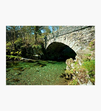 Bridge over Elterwater Photographic Print