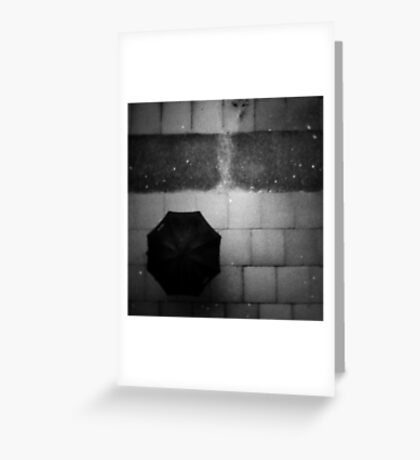 rain rain rain Greeting Card