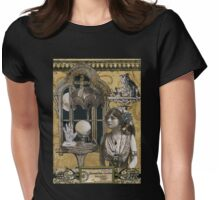 Evangeline Garden's Astrological Studio Womens Fitted T-Shirt