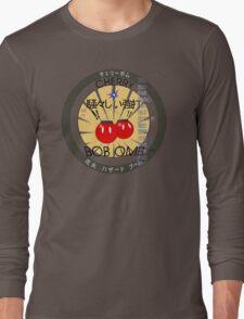 Cherry Bob Omb Fire Cracker Label Long Sleeve T-Shirt