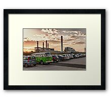 What did we do wrong? Framed Print