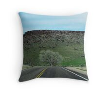 Turn Right At The Tree Throw Pillow