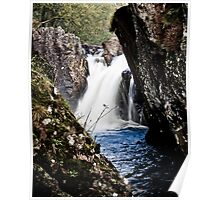 Waterfall on the River Ness Poster