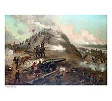 The Capture Of Fort Fisher Photographic Print
