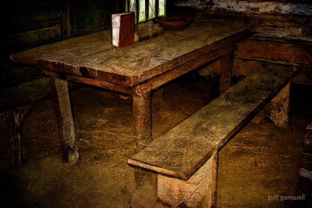 Let Us Break Bread Together by pat gamwell
