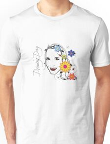 Drawing Day Self Portrait Unisex T-Shirt