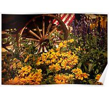 Philadelphia Flower Show. Garden. Poster