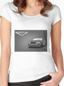 Bentley Women's Fitted Scoop T-Shirt