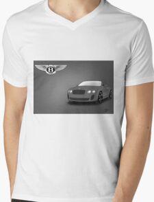 Bentley Mens V-Neck T-Shirt