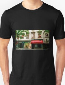 Shop Facade, Vienna, Austria (Panorama) Unisex T-Shirt