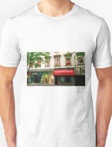 Shop Facade, Vienna, Austria (Panorama) T-Shirt