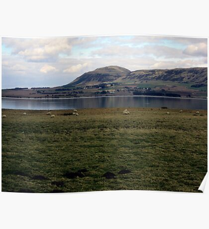 A View From Loch Leven Heritage Trail Poster