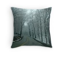 Spring Drive Throw Pillow