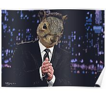 Jimmy Squirrel Poster