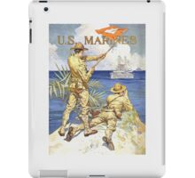US Marines Poster - World War 1 iPad Case/Skin