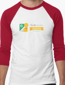 Google Maps | Street View | Trusted Photographer Men's Baseball ¾ T-Shirt