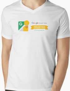 Google Maps | Street View | Trusted Photographer Mens V-Neck T-Shirt