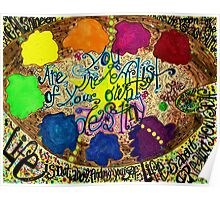 Palette of Life Poster