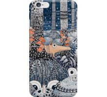 First snow in the Forest iPhone Case/Skin