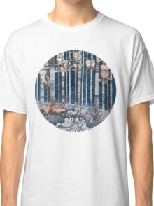 Owl Forest Classic T-Shirt