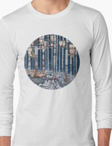 Owl Forest Long Sleeve T-Shirt