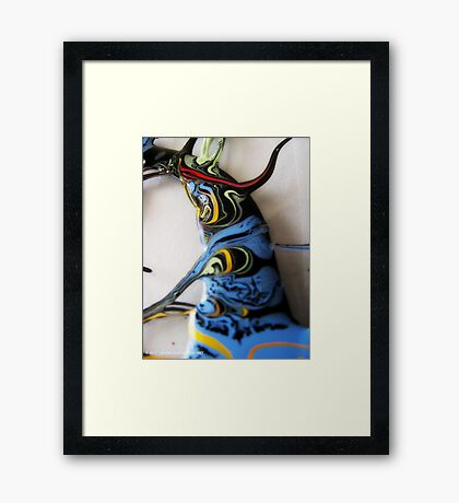ACRYLIC ABSTRACT #031 Framed Print