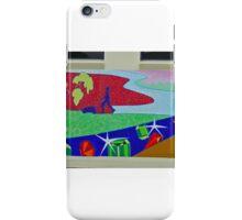 Mural 2, Grafton, New South Wales, Australia (panorama) iPhone Case/Skin
