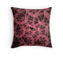 Satin Roses Bouquet  Throw Pillow