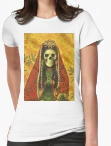Gothic Sorceress Womens Fitted T-Shirt