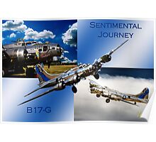Sentimental Journey Collage Poster