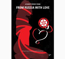 No277-007 My from Russia with love minimal movie poster Unisex T-Shirt