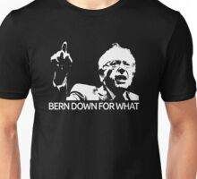 Bernie Sanders Bern Down For What Realistic  Unisex T-Shirt