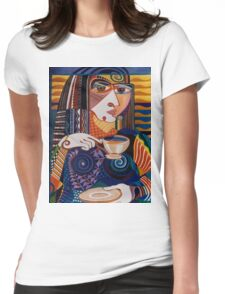 Cuppa Coffee 2 Womens Fitted T-Shirt