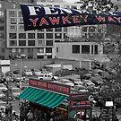 Yawkey Way, Fenway Park by rocperk