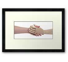 Impersonal Agreement Framed Print